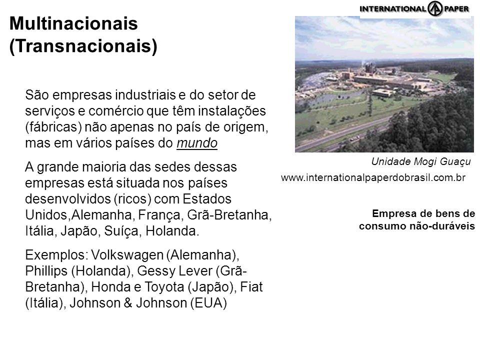Multinacionais (Transnacionais)