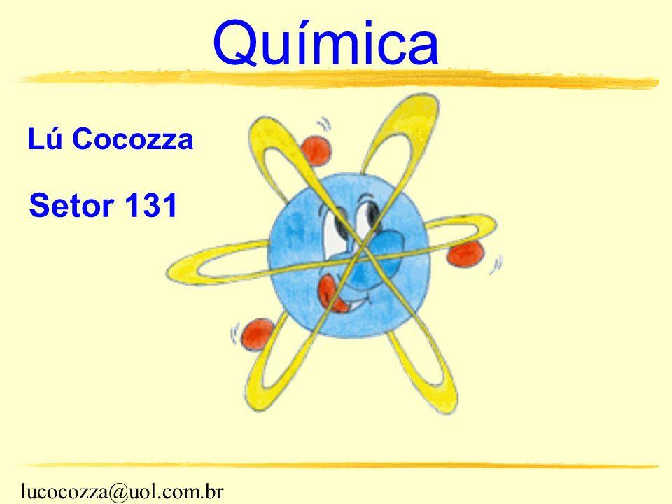 Química Lú Cocozza Setor 131 lucocozza@uol.com.br