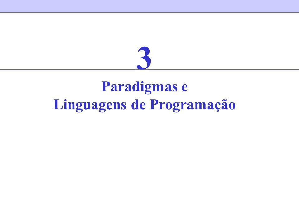 3 Paradigmas e Linguagens de Programação