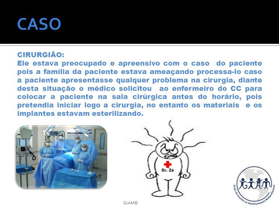 CASO CIRURGIÃO: