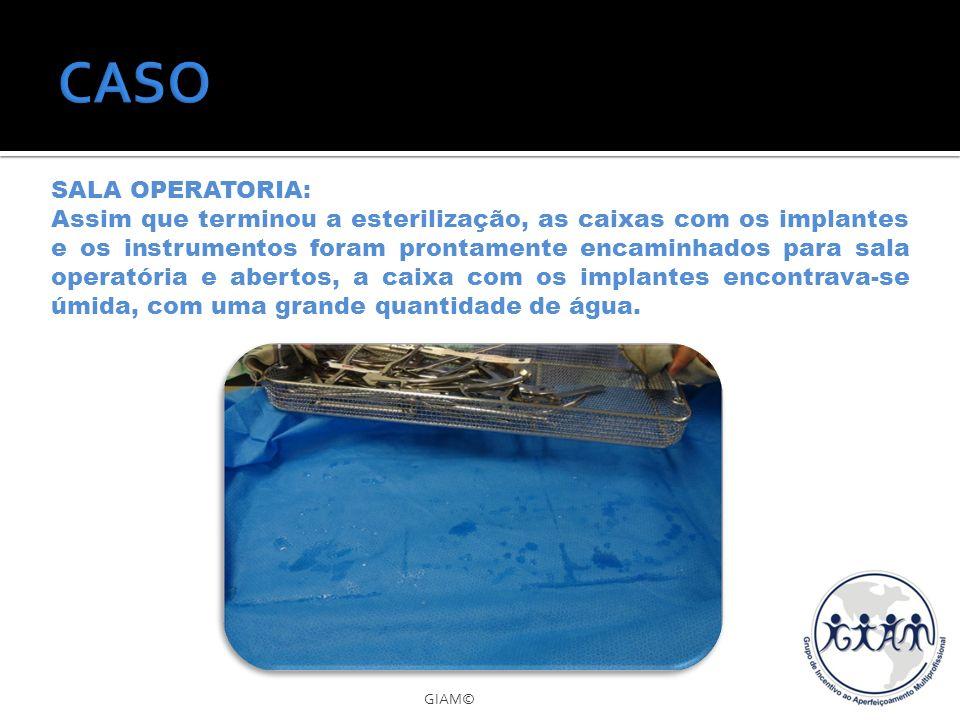 CASO SALA OPERATORIA:
