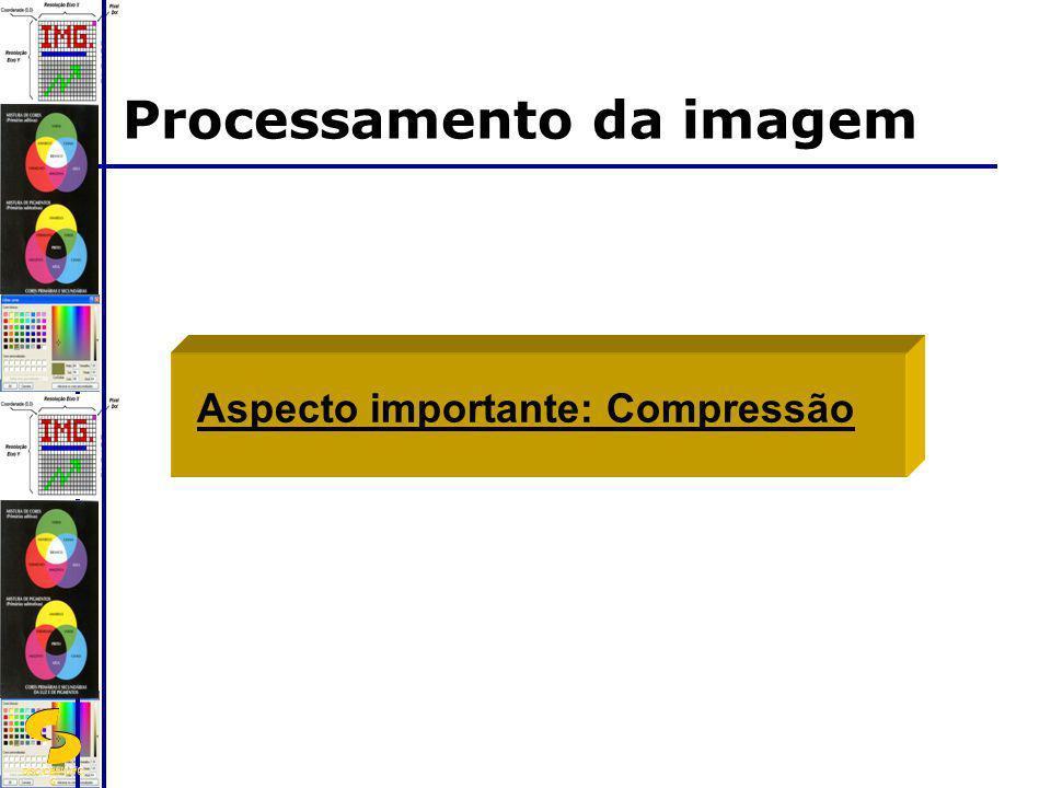Processamento da imagem