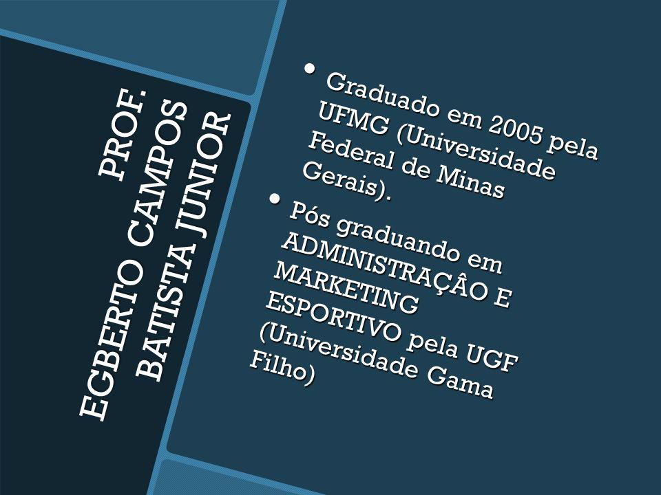 PROF. EGBERTO CAMPOS BATISTA JUNIOR