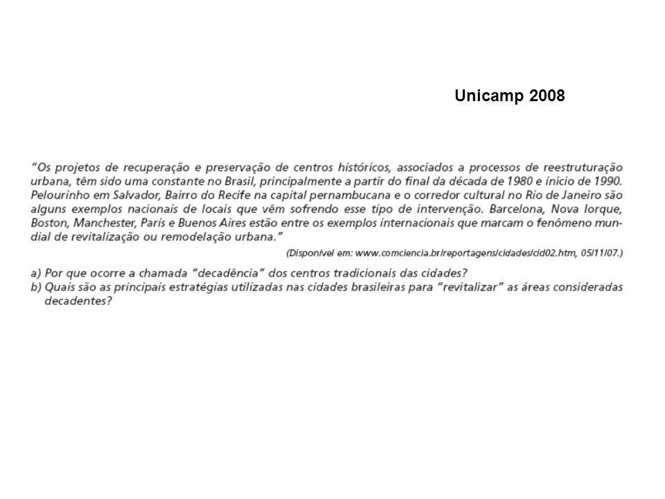 Unicamp 2008