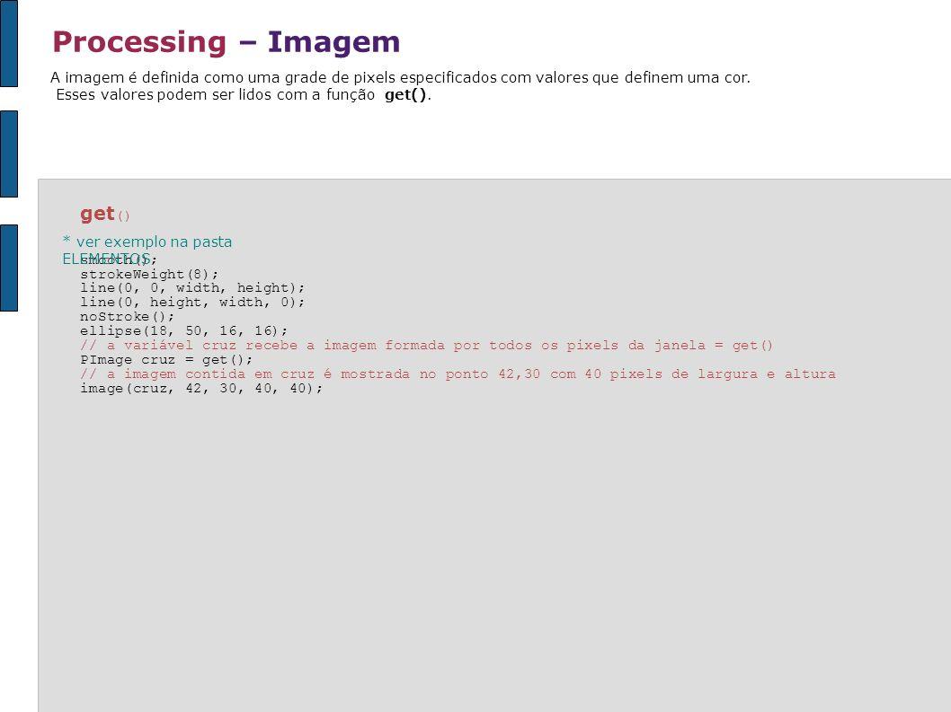 Processing – Imagem get()