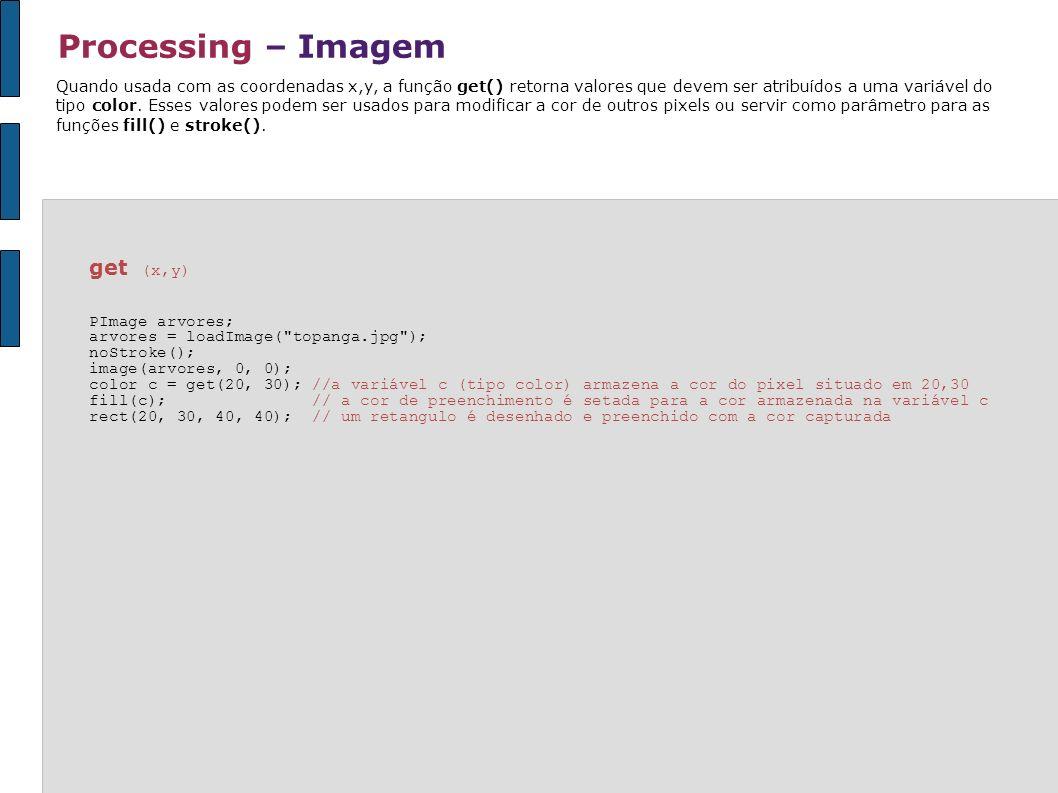 Processing – Imagem get (x,y)