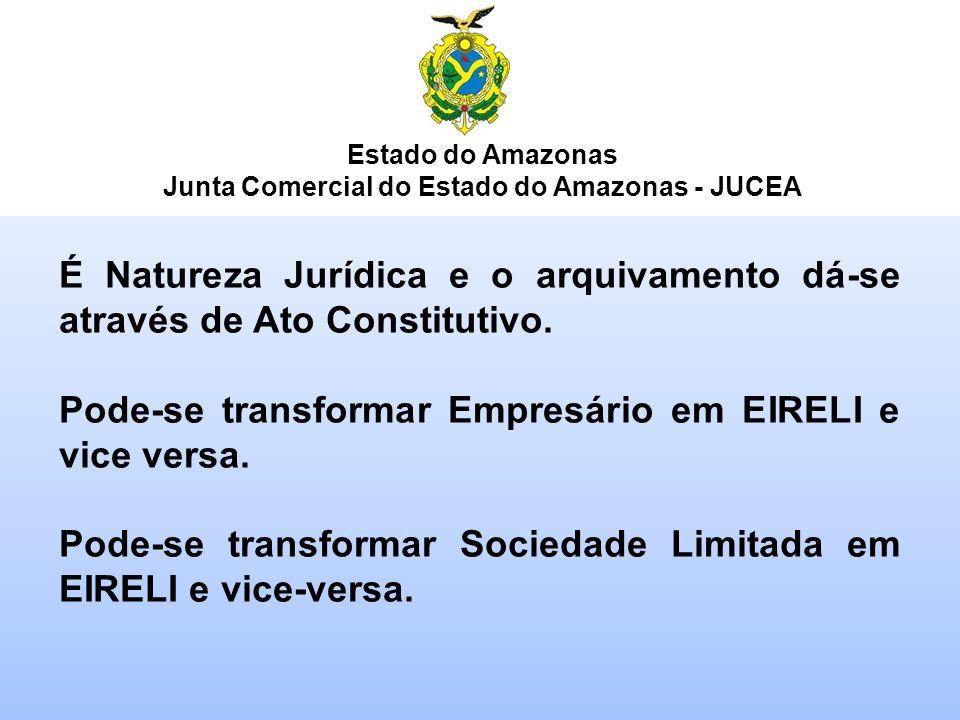 Junta Comercial do Estado do Amazonas - JUCEA