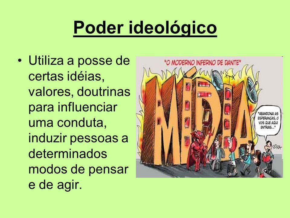 Poder ideológico