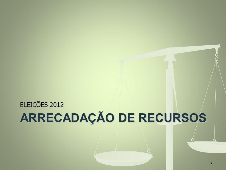 ARRECADAÇÃO DE RECURSOS