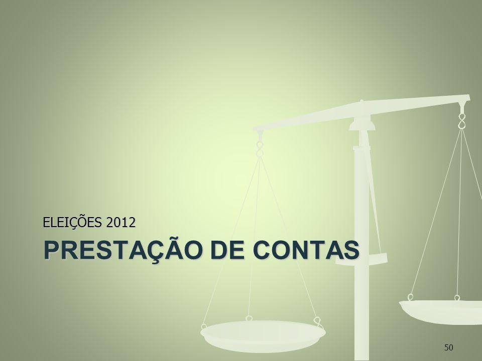 ELEIÇÕES 2012 PRESTAÇÃO DE CONTAS 50