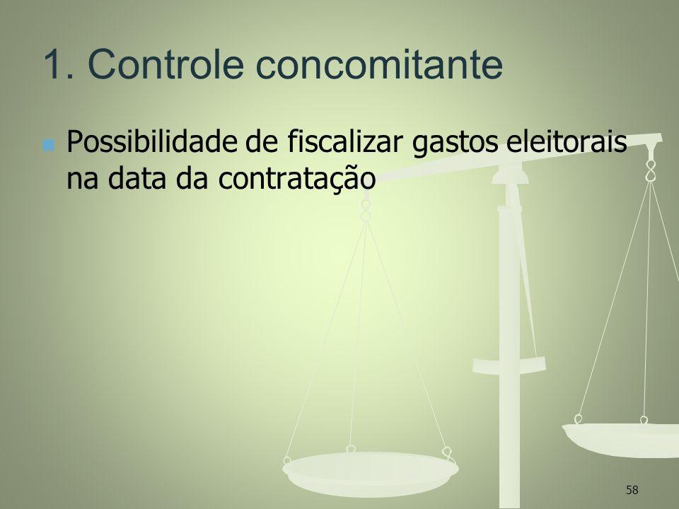 1. Controle concomitante