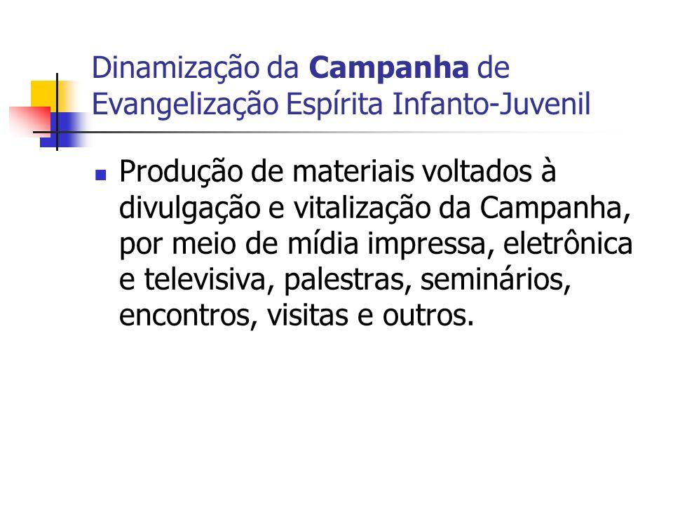 Dinamização da Campanha de Evangelização Espírita Infanto-Juvenil