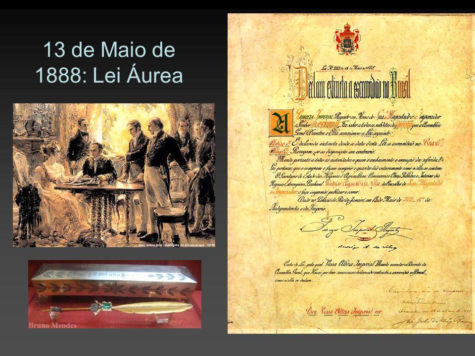 13 de Maio de 1888: Lei Áurea