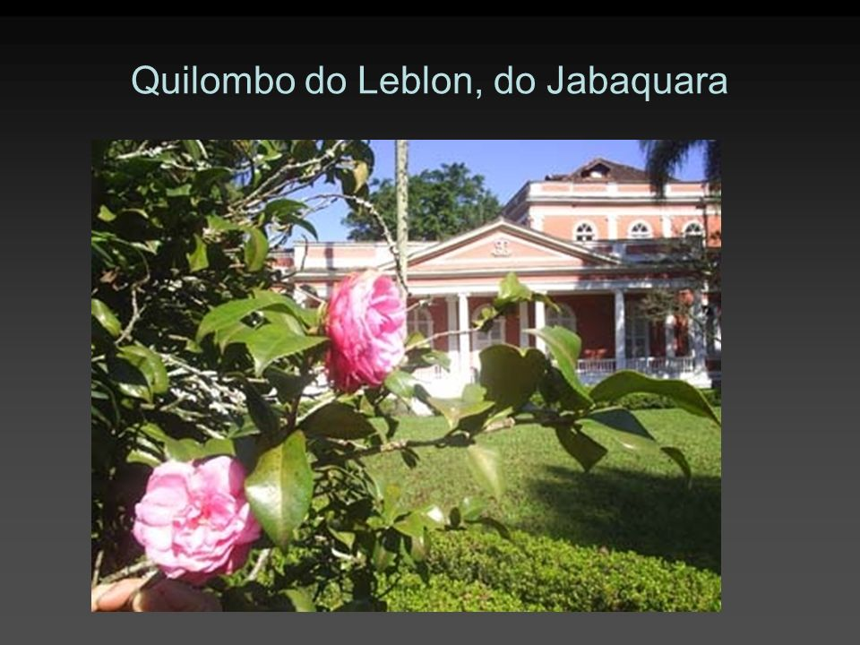 Quilombo do Leblon, do Jabaquara