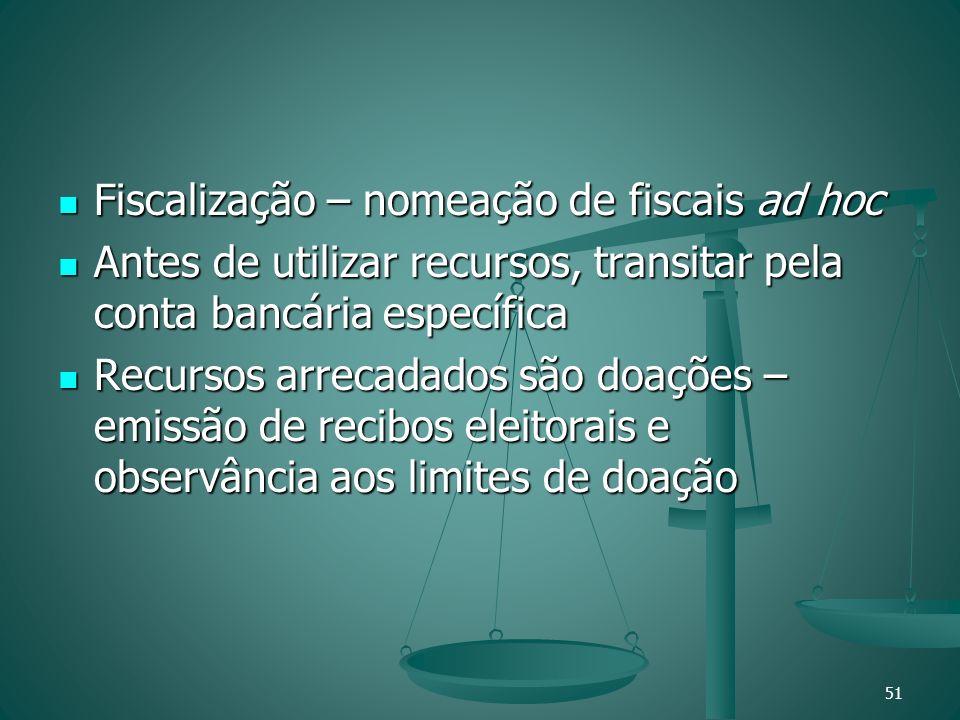 Fiscalização – nomeação de fiscais ad hoc