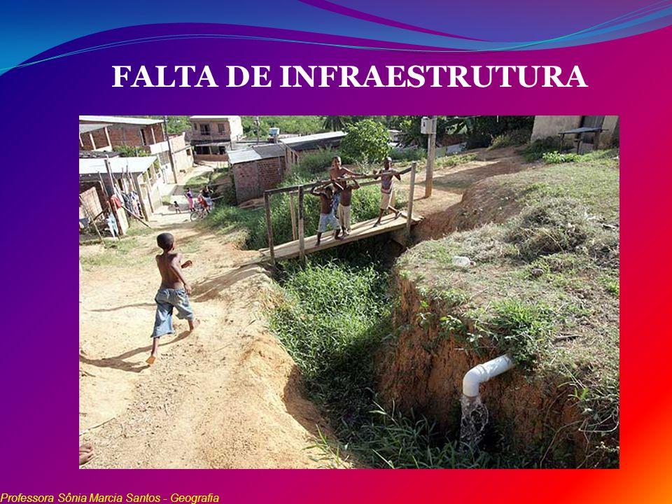 FALTA DE INFRAESTRUTURA