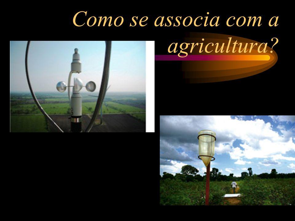 Como se associa com a agricultura