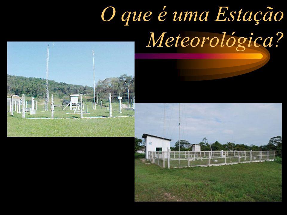 O que é uma Estação Meteorológica