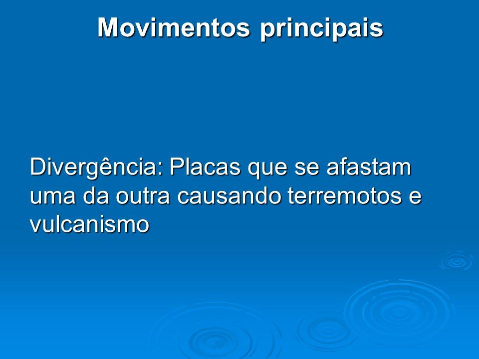 Movimentos principais