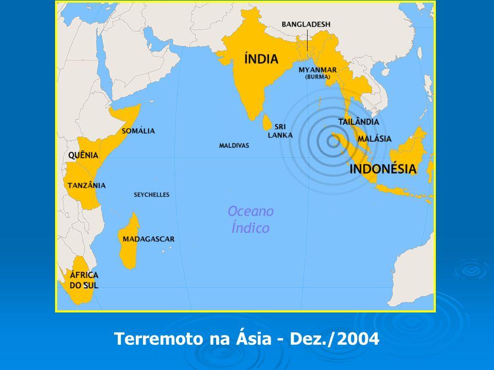 Terremoto na Ásia - Dez./2004