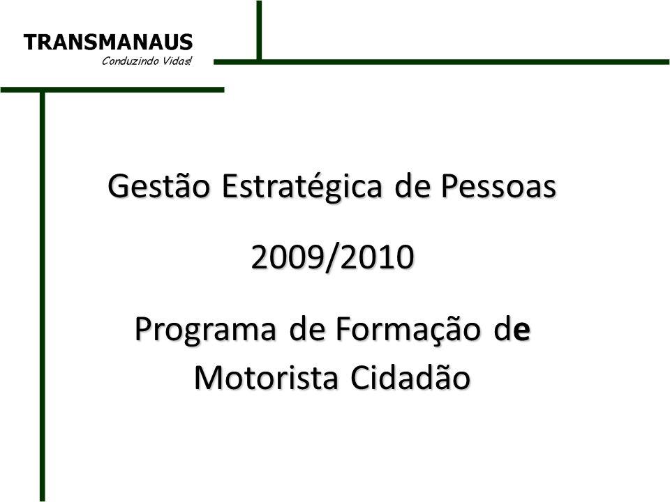 Gestão Estratégica de Pessoas 2009/2010