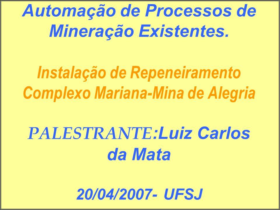 Automação de Processos de Mineração Existentes