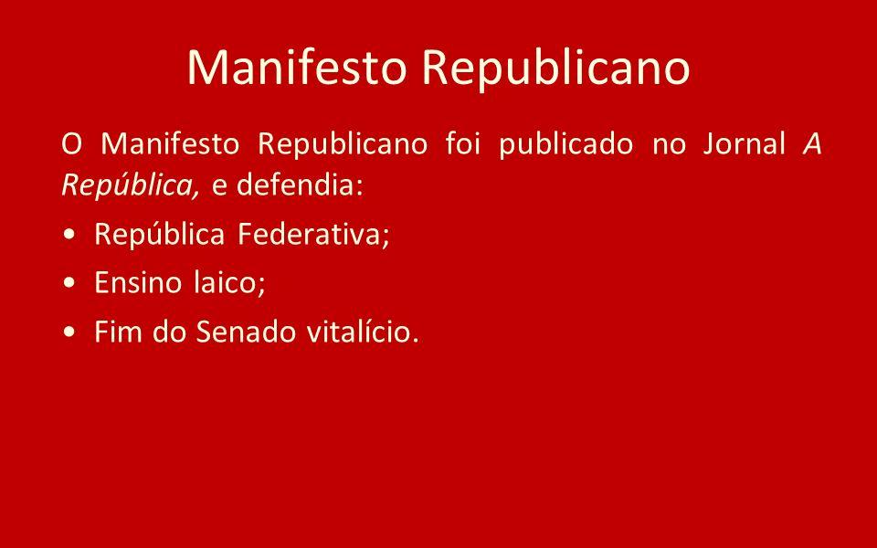 Manifesto Republicano
