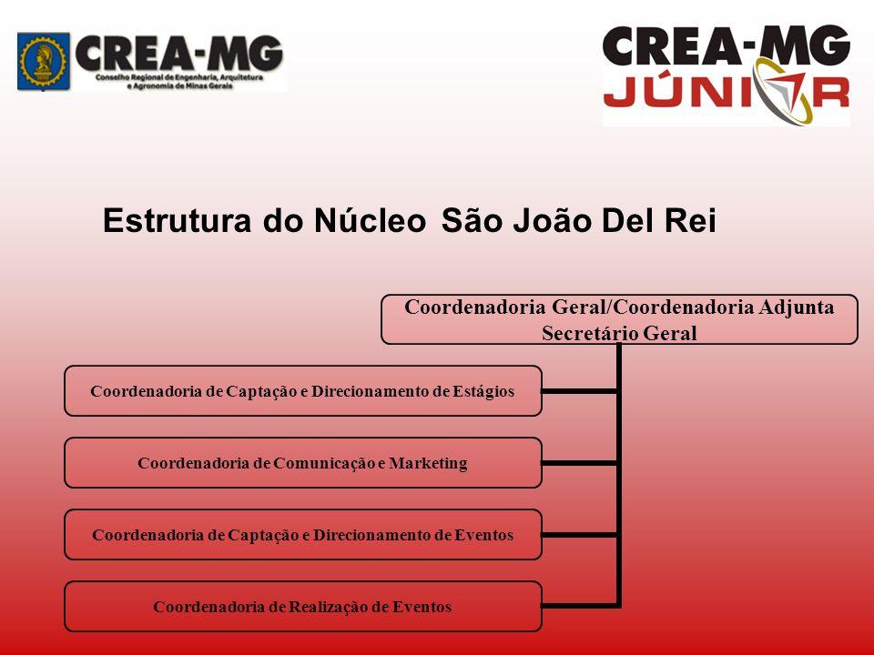 Estrutura do Núcleo São João Del Rei