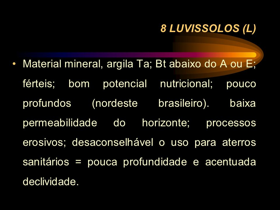 8 LUVISSOLOS (L)