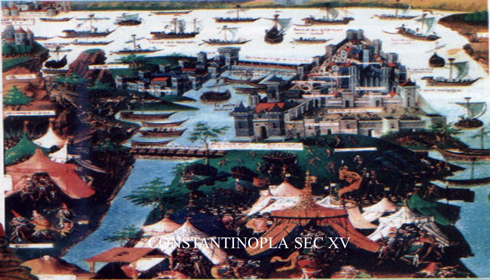 CONSTANTINOPLA SÉC XV