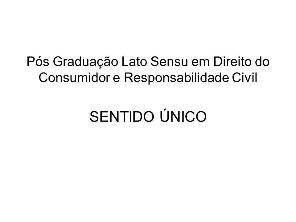 Pós Graduação Lato Sensu em Direito do Consumidor e Responsabilidade Civil