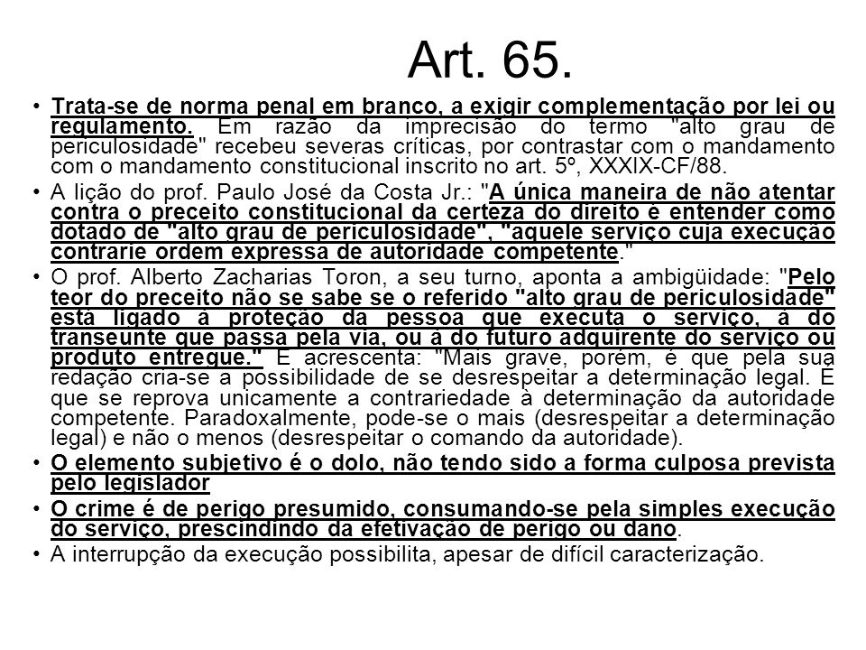 Art. 65.