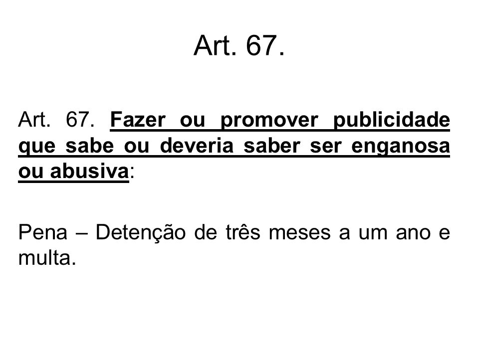 Art.67.Art. 67.