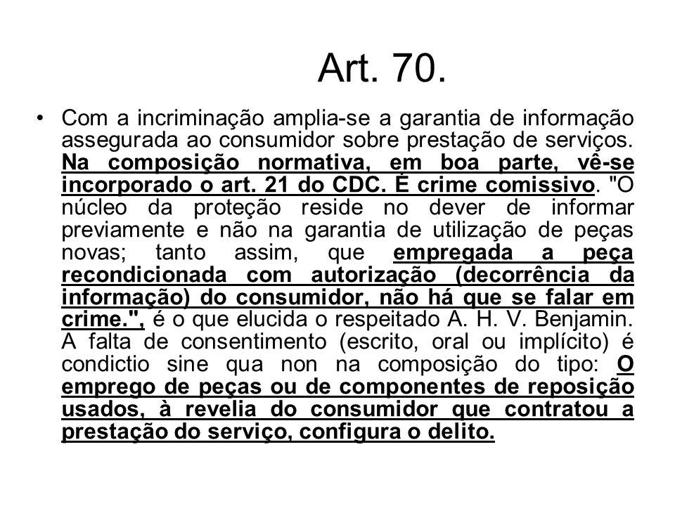 Art. 70.