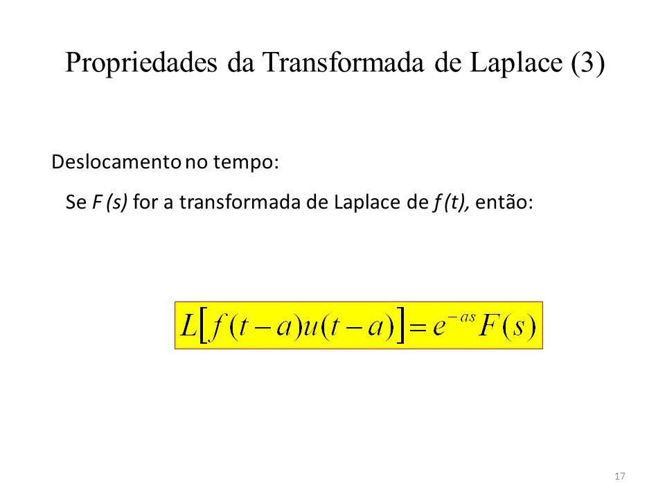Propriedades da Transformada de Laplace (3)