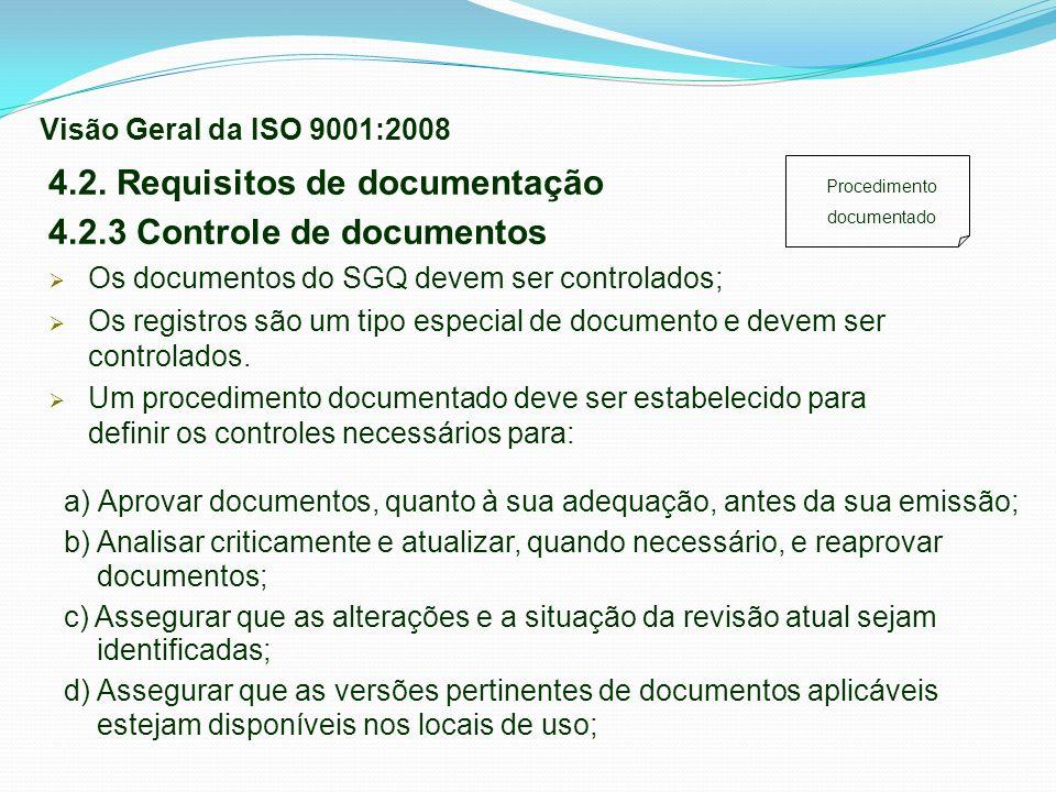 Procedimento documentado