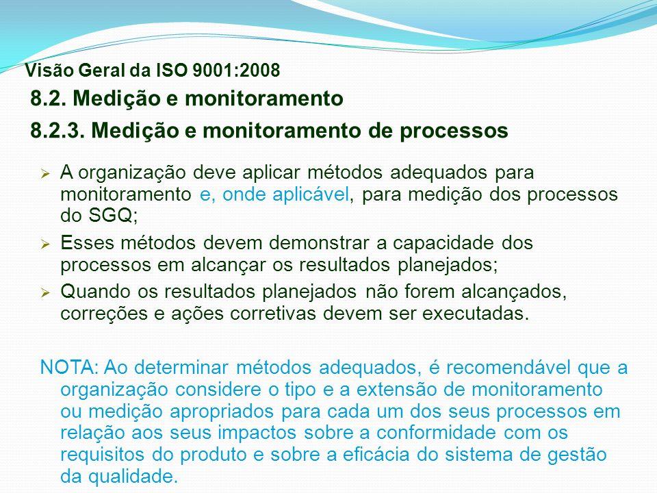 8.2. Medição e monitoramento