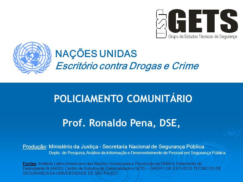 POLICIAMENTO COMUNITÁRIO