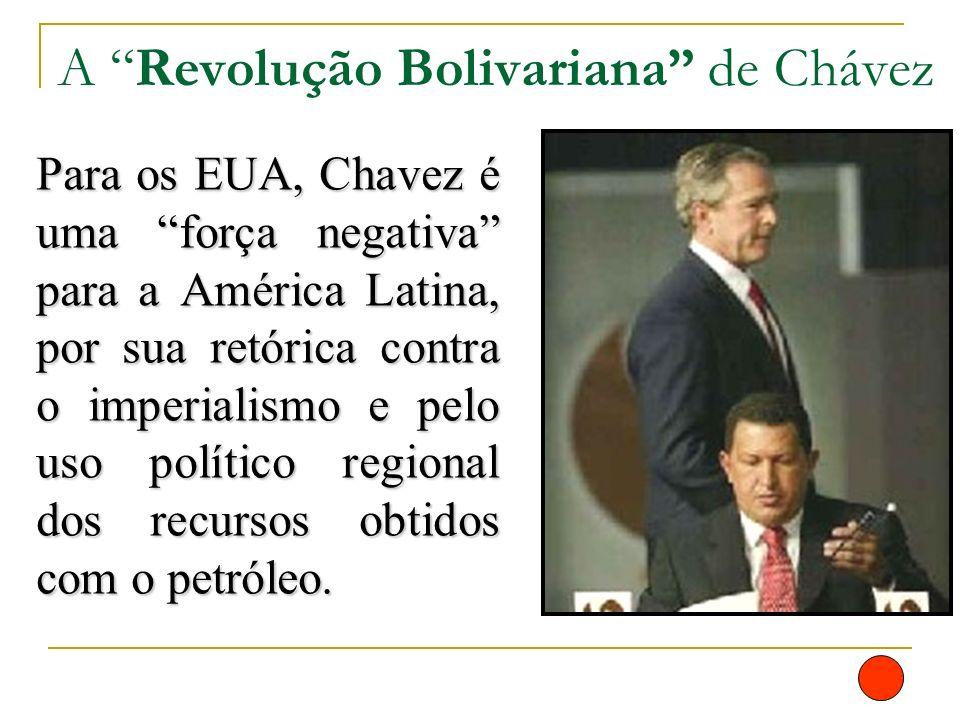 A Revolução Bolivariana de Chávez