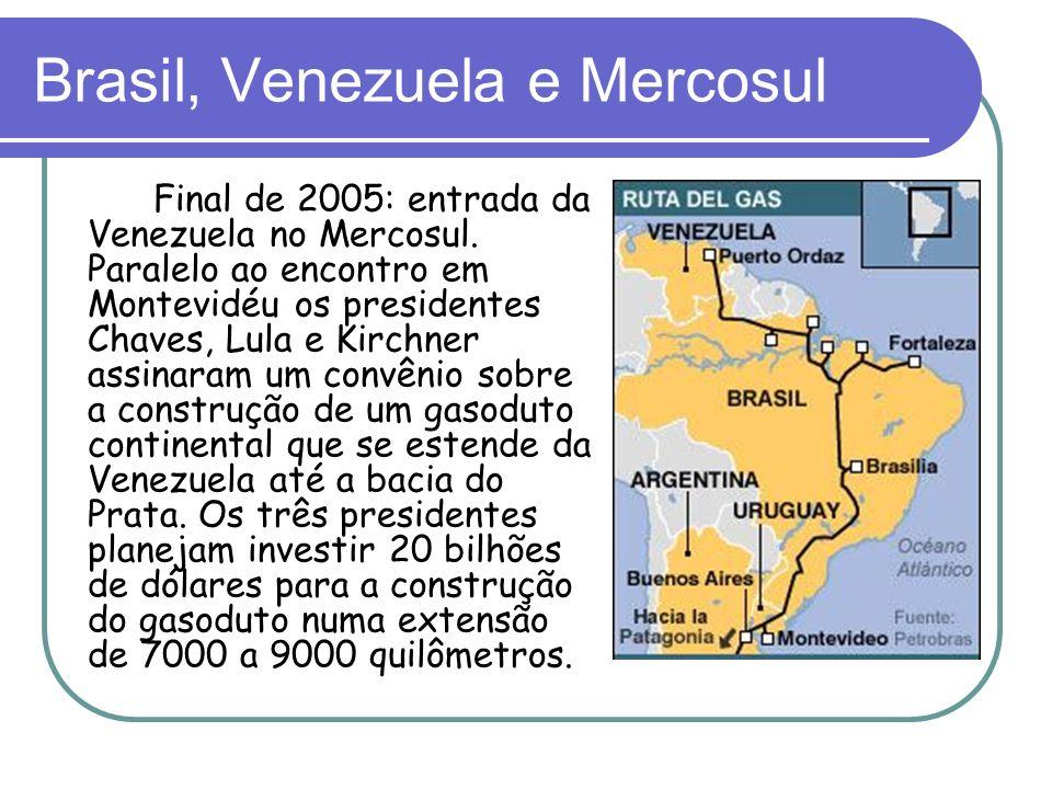 Brasil, Venezuela e Mercosul
