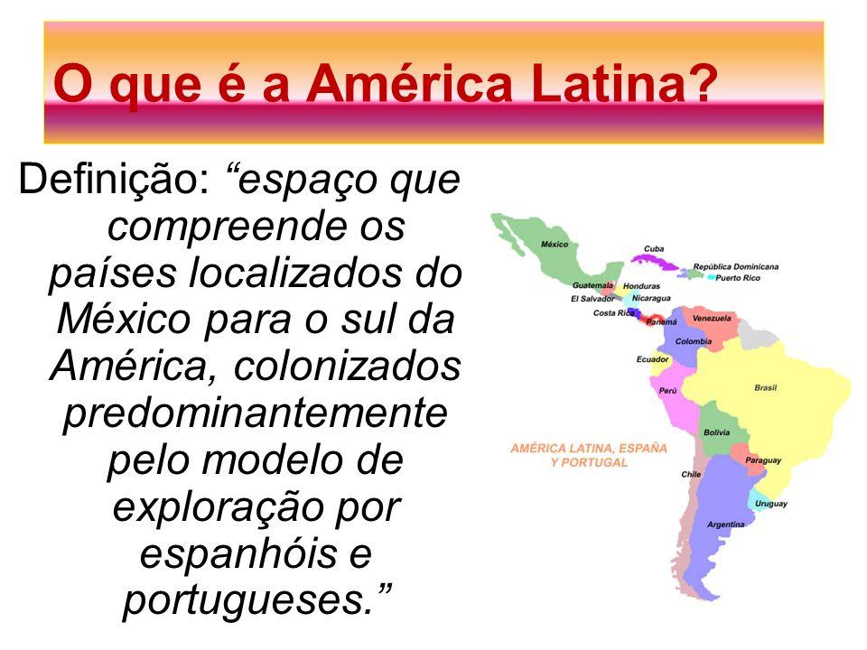 O que é a América Latina