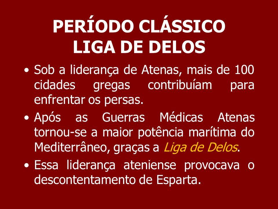 PERÍODO CLÁSSICO LIGA DE DELOS