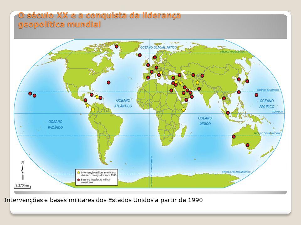O século XX e a conquista da liderança geopolítica mundial