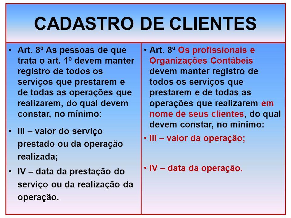 CADASTRO DE CLIENTES