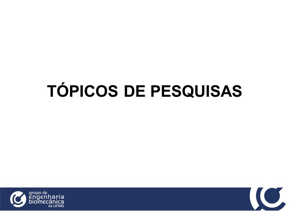 TÓPICOS DE PESQUISAS