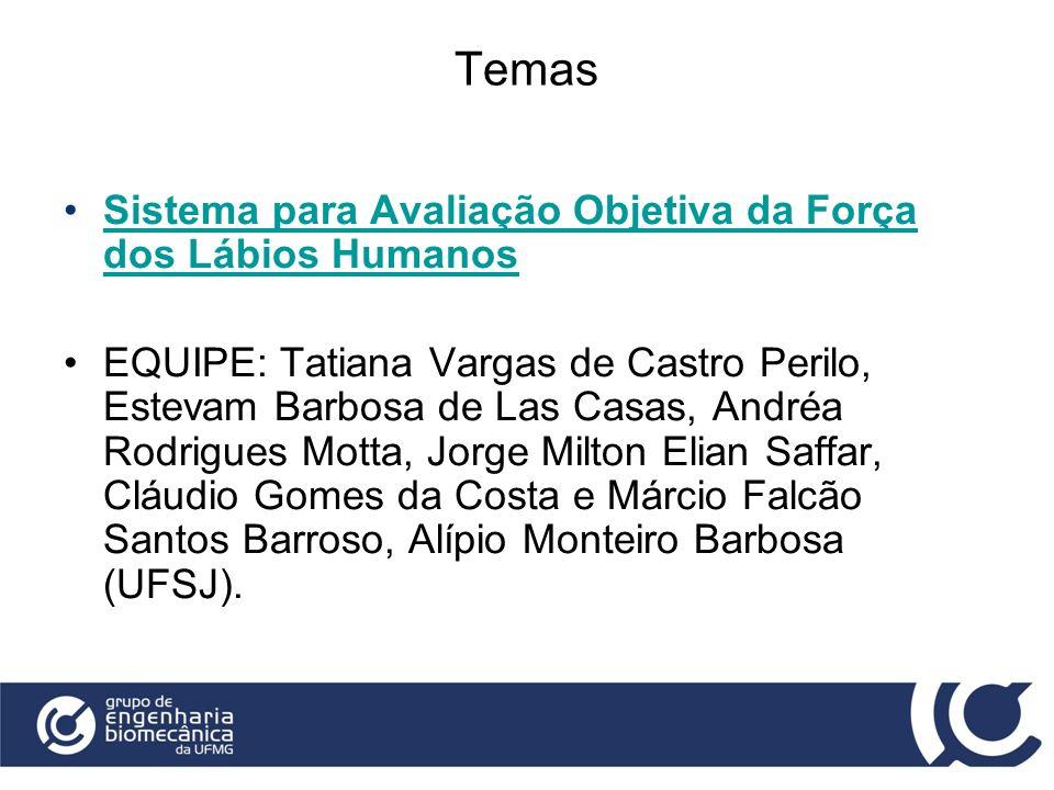 Temas Sistema para Avaliação Objetiva da Força dos Lábios Humanos