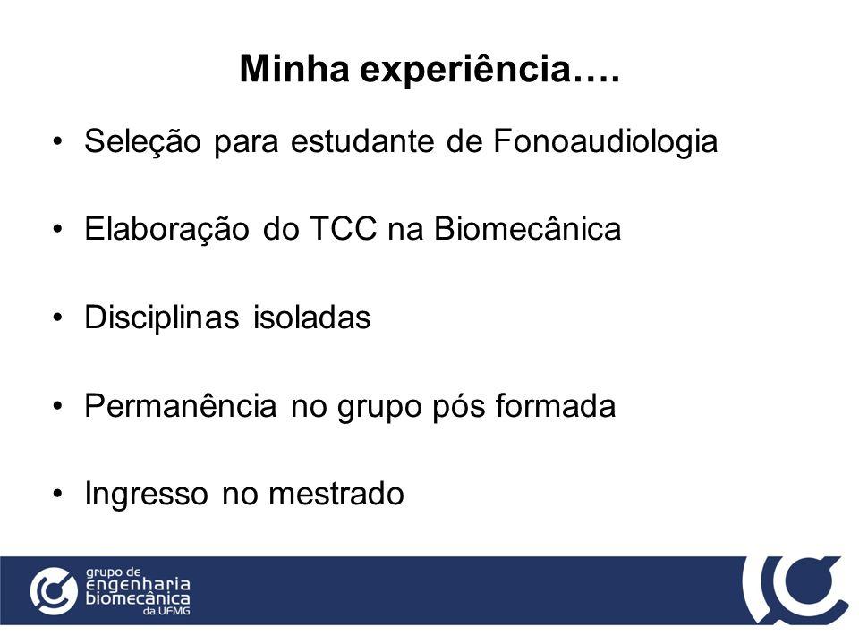 Minha experiência…. Seleção para estudante de Fonoaudiologia
