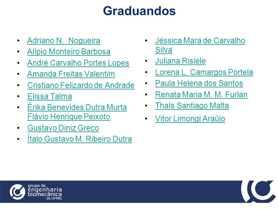 Graduandos Adriano N. Nogueira Alípio Monteiro Barbosa