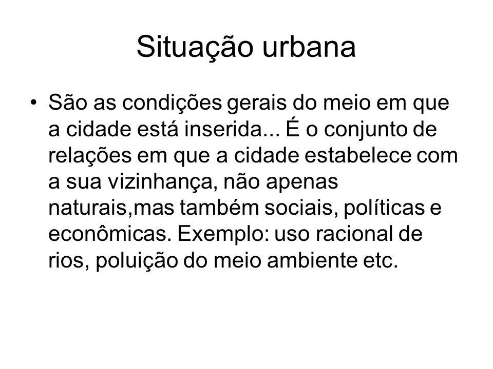 Situação urbana
