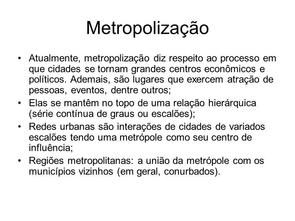 Metropolização